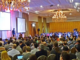 DefCamp 2014 - Main conference room