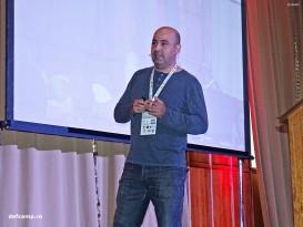 Alex Balan at DefCamp 2014