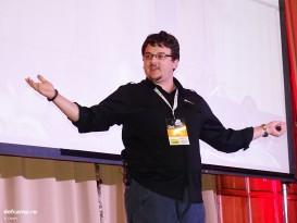 Tudor Damian at DefCamp 2014