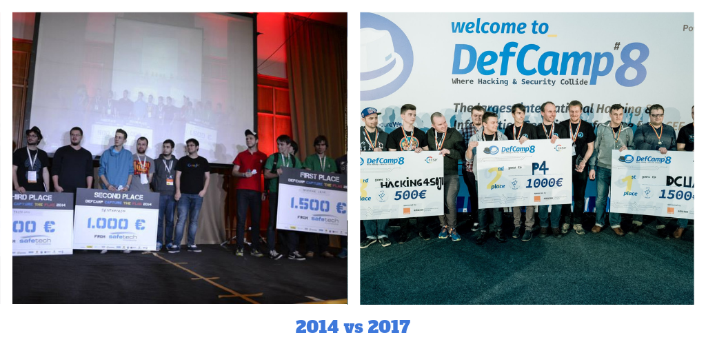 defcamp then and now 2014 2017