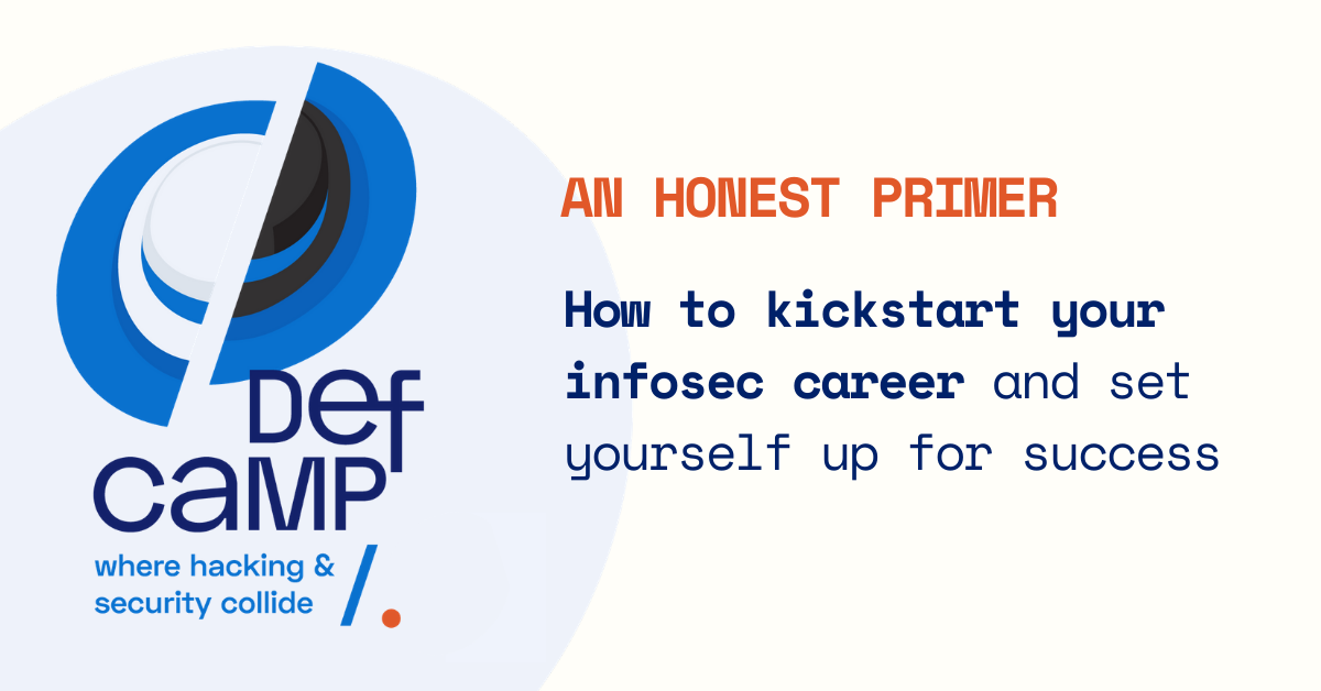 kickstart infosec career defcamp