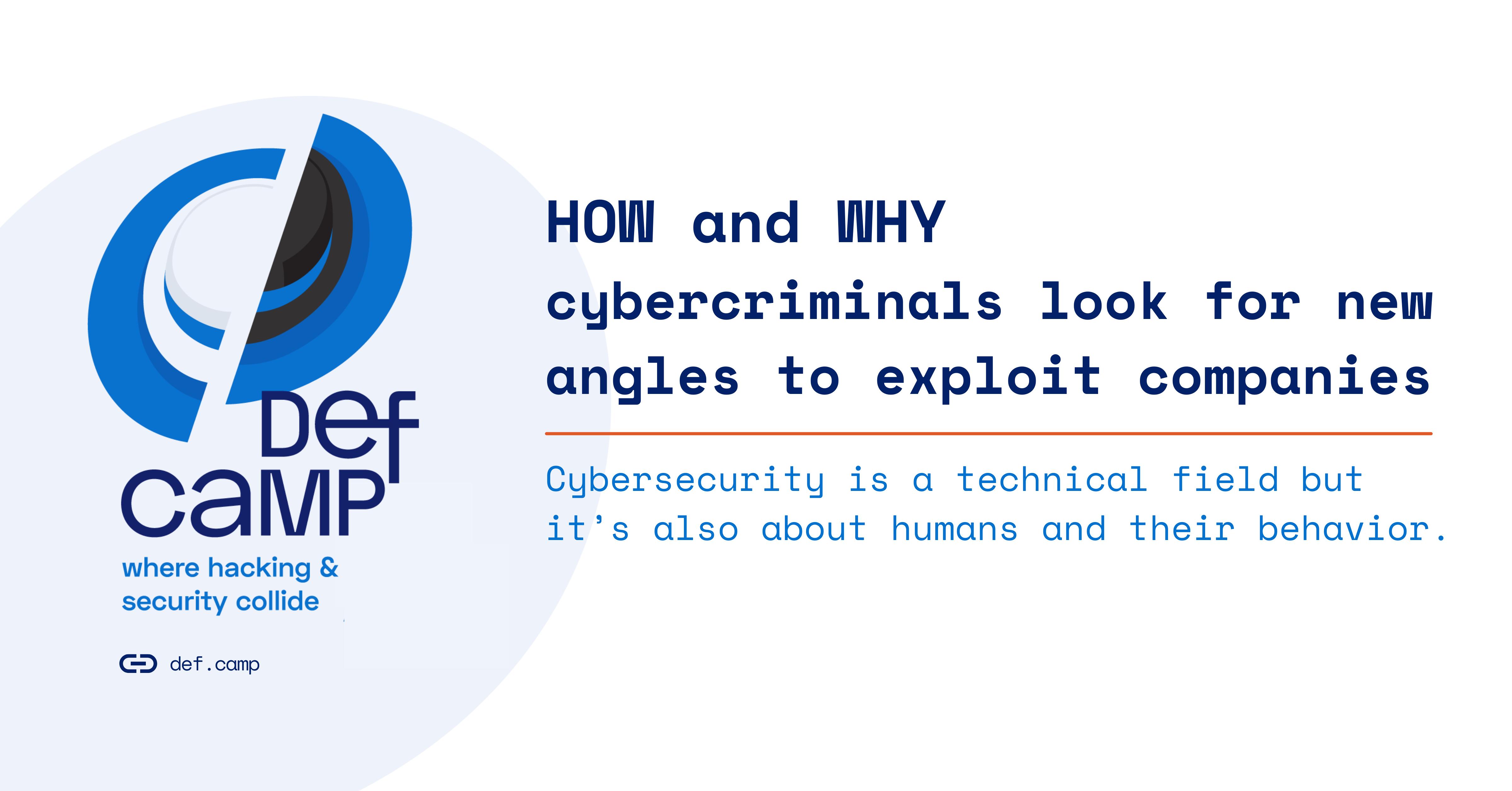 cybercriminals exploit companies